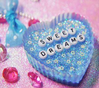 Обои на телефон синие, сердце, прекрасные, милые, мечты, блестящие, greeting, good