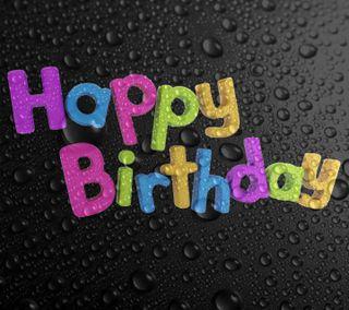 Обои на телефон день рождения, счастливые, дождь, вода, happy