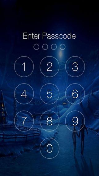 Обои на телефон экран, технологии, passcode screen2, passcode