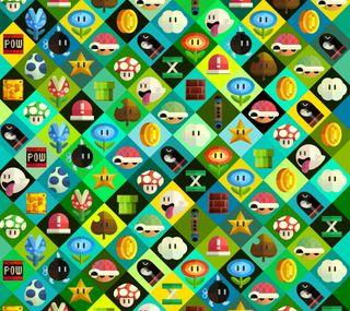 Обои на телефон видео, нинтендо, марио, крутые, коллаж, игры, звезда, pow, nintendo, mario collage, coin