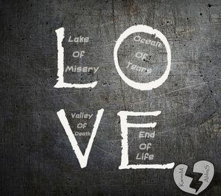 Обои на телефон эмо, любовь, изображение, дизайн, абстрактные, love def, love