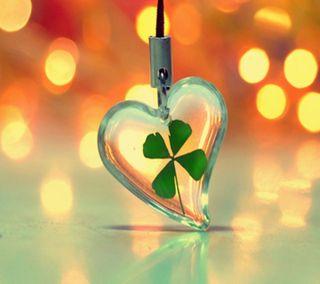 Обои на телефон удача, ирландия, новый, листья, клевер, везучий, necklace, irsh, good luck