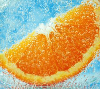 Обои на телефон напиток, оранжевые, narancs
