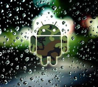 Обои на телефон рокки, новый, милые, любовь, логотипы, крутые, капли, дождь, вода, андроид, rainy android hd, love, android, 2012