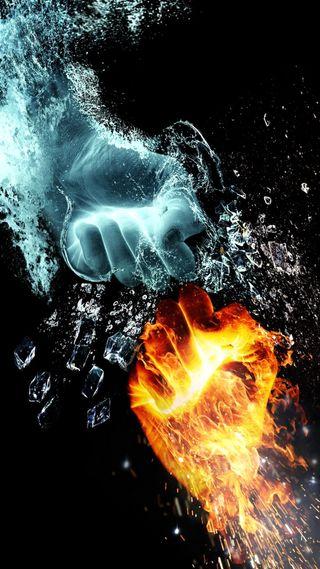Обои на телефон страх, реал, огонь, лед, кулак, железный, stallion, no, knuckles, ice and fire
