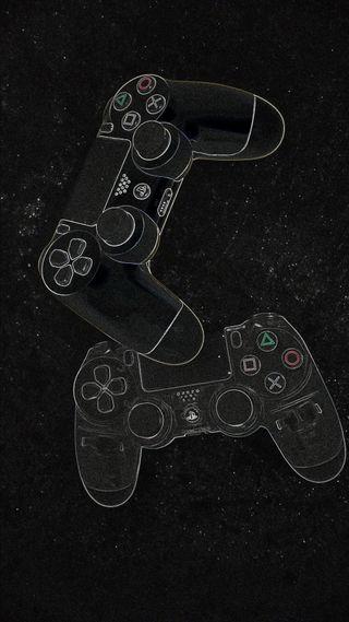 Обои на телефон игровые, фан, тату, пс4, игры, джойстик, ps4, playstation, plays tat ion, control2