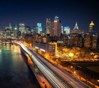 Обои на телефон мост, пейзаж, новый, brooklyn
