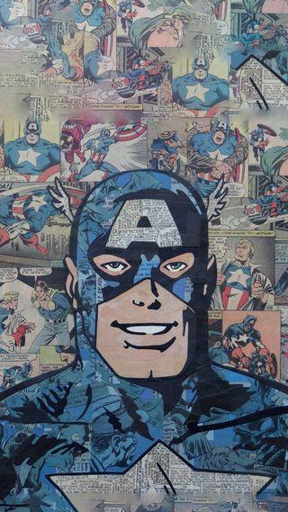 Обои на телефон щит, супергерои, мстители, марвел, комиксы, америка, marvel