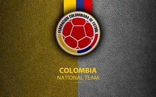 Обои на телефон колумбия, эмблемы, футбольные, футбол, национальная, логотипы, команда