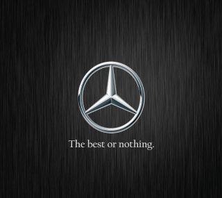 Обои на телефон ничего, бенц, мерседес, лучшие, логотипы, the best or nothing, mercedes benz logo