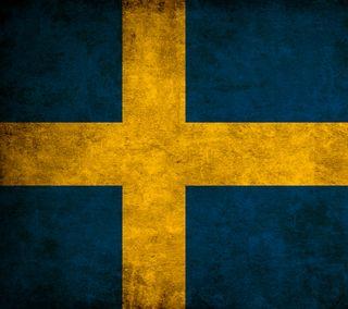 Обои на телефон швеция, флаг, swedish