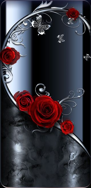 Обои на телефон симпатичные, черные, розы, прекрасные, мрамор, красые