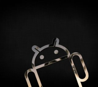 Обои на телефон черные, андроид, black android, android