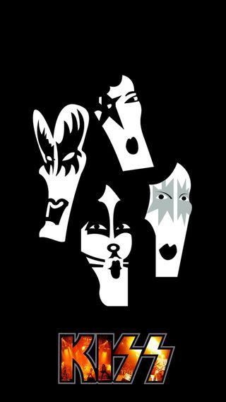 Обои на телефон группа, рок, поцелуй, музыка, hd