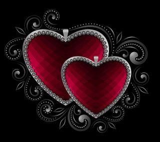 Обои на телефон валентинка, фон, сердце, розовые, любовь, векторные, абстрактные, valentine hearts