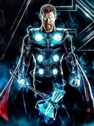 Обои на телефон финал, черные, фильмы, тор, синие, мстители, марвел, герой, бог, marvel, 4k