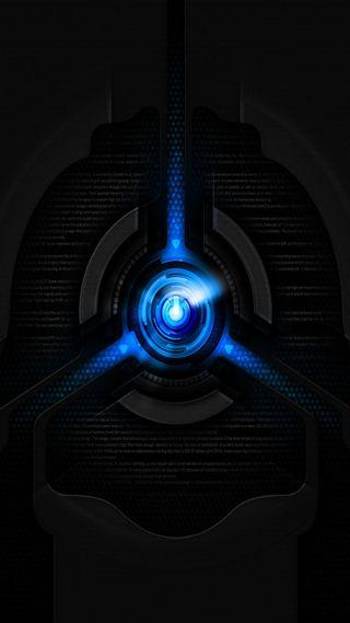 Обои на телефон энергетики, синие