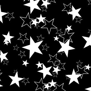 Обои на телефон узоры, черные, звезды, белые, gypsy