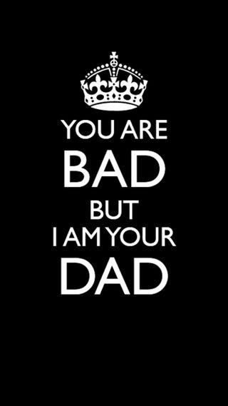Обои на телефон плохой, отец, bad