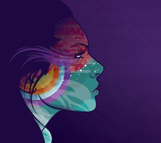 Обои на телефон менять, женщины, ветер, абстрактные, wind of change