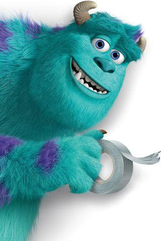 Обои на телефон фильмы, университет, синие, монстры, джеймс, monsters university, monster, james p sullivan