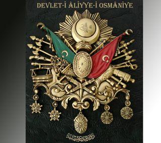 Обои на телефон символ, османский, ottoman symbol, ottoman arma, devlet