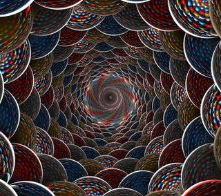 Обои на телефон спираль, абстрактные, spirals, 3д, 3d