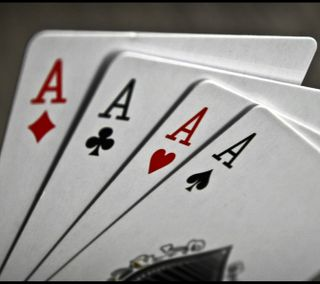 Обои на телефон туз, покер, карты, игра
