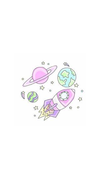Обои на телефон слово, розовые, девушки, галактика, белые, mundos, galaxy, cometa, chicas