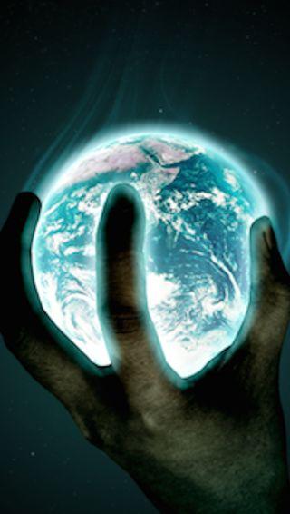 Обои на телефон пришелец, земля, earth alien