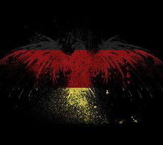 Обои на телефон флаг, германия