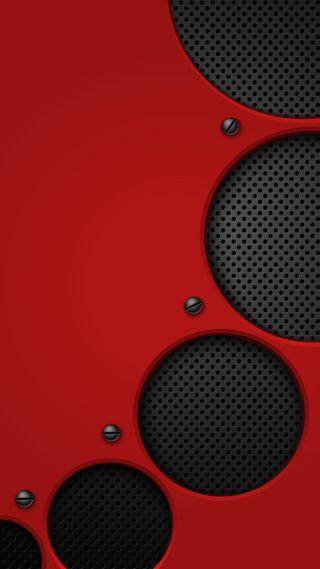Обои на телефон металлические, новый, крутые, красые, абстрактные, red volume, hd, 929