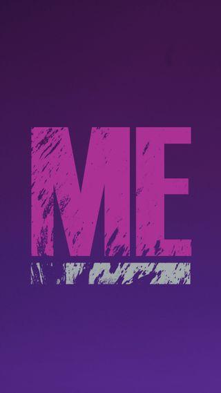 Обои на телефон один, я, чистые, фиолетовые, сам, розовые, простые, дизайн, день, singles day, one, me and myself