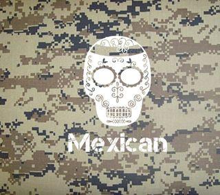 Обои на телефон череп, мексиканские, мексика