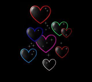 Обои на телефон сердце, дизайн, валентинка, valentine 27
