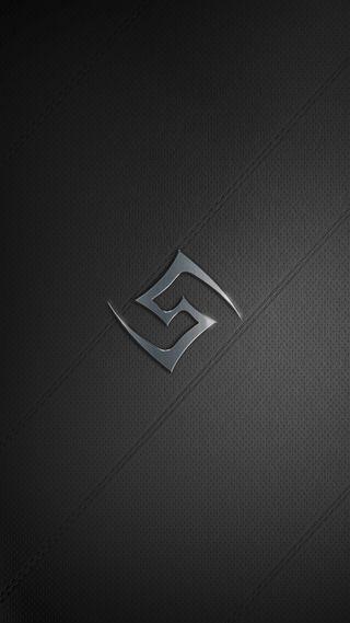 Обои на телефон символ, черные, другие