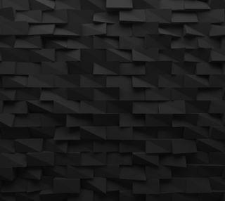 Обои на телефон квадраты, черные, абстрактные, gemoteric