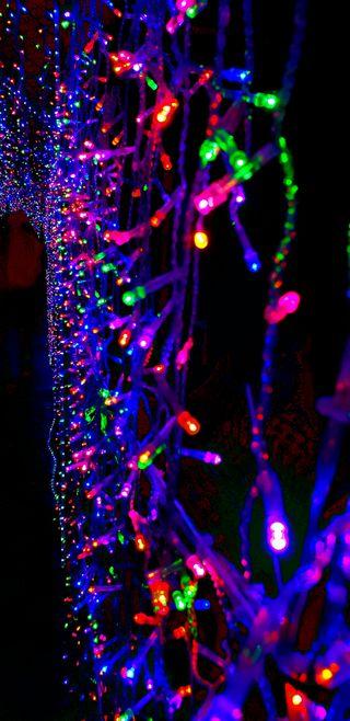 Обои на телефон цвета, цветные, рождество, неоновые, красочные, lucesdecolores, luces