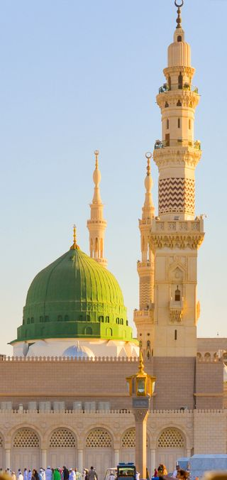Обои на телефон мечеть, город, madina 42