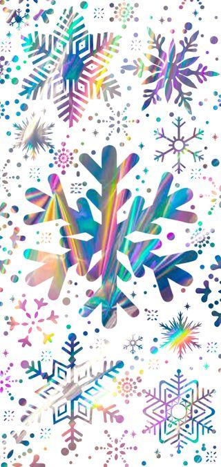 Обои на телефон снежинки, самсунг, рождество, tornasol, samsung s10 plus, samsung, s10 plus, melesao, copo de nieve