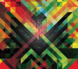 Обои на телефон треугольники, шаблон, текстуры, абстрактные, pattern triangles