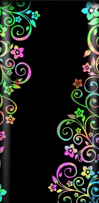 Обои на телефон яркие, радуга, красочные, brightvines