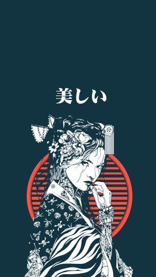 Обои на телефон токио, японские, цитата, дизайн, векторные, арт, аниме, yukata, beuty2, beuty, art, 2019