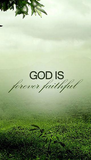 Обои на телефон бог, цитата, faithful