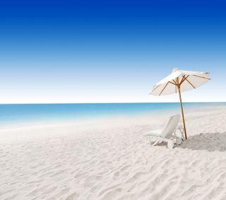 Обои на телефон пляж, пейзаж