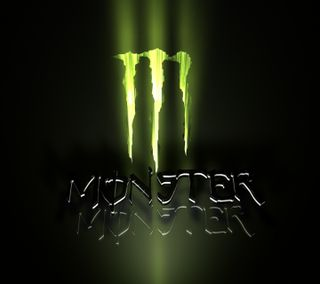 Обои на телефон энергетики, логотипы, monster energy