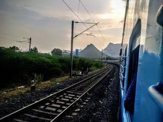 Обои на телефон поезда, природа, индия, естественные, горы, railways, hd
