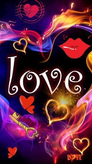 Обои на телефон ключ, сердце, неоновые, милые, любовь, красые, блокировка, postage, love, lios, colirsmblack