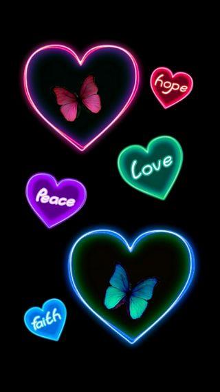 Обои на телефон вера, счастливые, сердце, надежда, мир, любовь, духовные, бабочки, positivity, love, happy, faith peace hope luv, beliefs