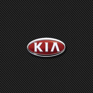 Обои на телефон значок, эмблемы, логотипы, карбон, kia carbon, kia